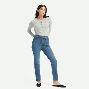 Authentic Stretch High-Rise Cigarette Jean